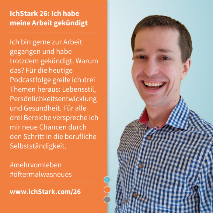 Christian Koch über berufliche Selbstständigkeit